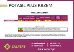 Tabela-prawidlowego-mieszania-Potasil-Plus-Krzem-Calfert